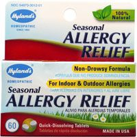 """Allergy Relief"" Homeopathic Sublingual (60 tabs) by Hylands"