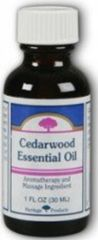 """Cedarwood"" Essential Oil by Heritage Store (1 fl oz) $6.99"