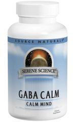 """GABA CALM"" - Calm Mind (60 Sublingual Lozenges) by Source Naturals $10.99"