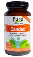 Candex™ Enzyme Supplement (120 Vegi Caps) by Pure Essence Labs $47.99