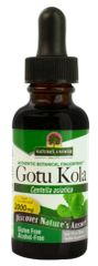 """Gotu Kola"" - Centella asiatica - 2000mg Alcohol Free (1 fl oz) by Nature's Answer$8.99"