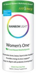 """Women's One Multivitamin/Mineral"" 150 tabs by Rainbow Light $31.99"