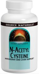 """N-Acetyl Cysteine"" 1000mg 120tabs by Source Naturals $30.79"