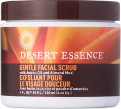 """Gentle Facial Scrub"" with Jojoba Oil and Almond Meal Exfoliant Pour (4 fl oz) by Desert Essence $6.99"
