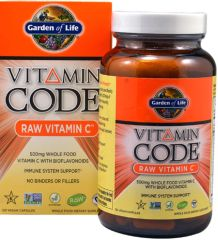 Vitamin Code RAW Vitamin C (120 Vegan Capsules) by Garden of Life $27.99