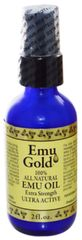 """Emu Gold"" 100 % All Natural Emu Oil Extra Strength Ultra Active (2 fl oz) by Emu Gold $18.99"