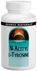 """""""N-Acetyl L-Tyrosine"""" 300 mg (60 tabs) by Source Naturals $11.55"""