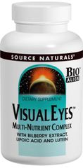 """""""Visual Eyes"""" Multi-Nutrient Complex (120 Tablets) by Source Naturals $45.85"""
