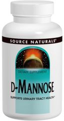 """""""D-Mannose"""" 500 mg (60 caps) by Source Naturals $16.99"""