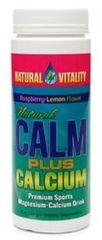 Magnesium Calm® Plus Calcium Organic Raspberry-Lemon (8 oz Powder) by Natural Vitality $16.99