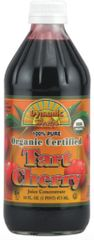 Tart Cherry Juice Concentrate - Organic Certified (16 fl oz) by Dynamic Health $17.99