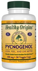 """Pycnogenol"" 100 mg (30 Veggie Caps) by Healthy Origins $31.99"