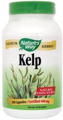 """""""Kelp"""" Nutritional Seaweed (180 Capsules) by Nature's Way $9.99"""