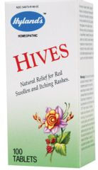 Hives Homeopathic Formula (100 tabs) by Hylands $8.99