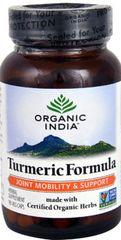"""Organic """"Turmeric Formula"""" (90 Veg Caps) by Organic India $21.99"""