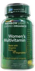 Organic Women's Multivitamin by Rainbow Light (120 Vegetarian Caps) $ 24.99