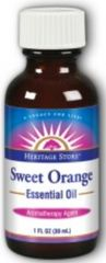 """Sweet Orange"" Essential Oil (1 fl oz) by Heritage Store $9.99"