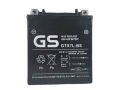 GTX7L-BS 12V 6Ah with Acid Pack by GS BATTERY, a subsidiary of GS YUASA