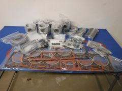 White 6144 Series Tractor In-frame Engine Overhaul Kit, Standard Bearings and Pistons - AB73342192
