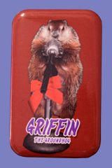 "Griffin ""The MC"" Button Magnet"