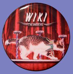 "Wiki ""The Daredevil"" Round Button Magnet"