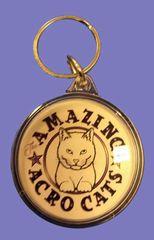 Amazing Acro-Cats Keychain!