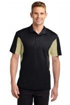SPORT-TEK SIDE BLOCKED MICROPIQUE SPORT-WICK POLO - BUY IT BLANK OR LET US EMBROIDER FOR YOU!