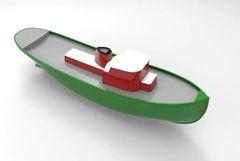 1/32 Great Lakes Idaho Tug Boat Short Kit