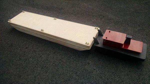47-Inch 30m Flat-Deck Work Barge