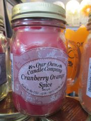Cranberry Orange Spice Candle