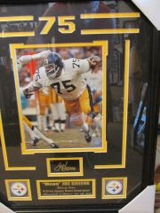 Joe Greene Framed Print