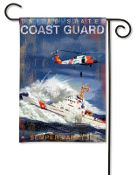 United States Coast Guard Garden Flag