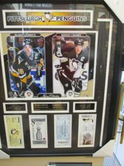 P. Penguins Stanley Cup Ticket Frame