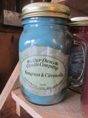 Seagrass & Citronella Candle