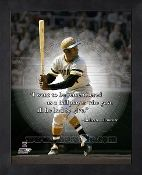 Roberto Clemente Quote Frame