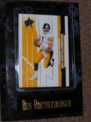 Ben Roethlisberger Sports Plaque