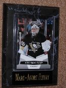 Marc-Andre Fleury Sports Plaque