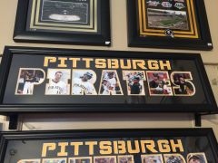 Pittsburgh Pirates Word Frame