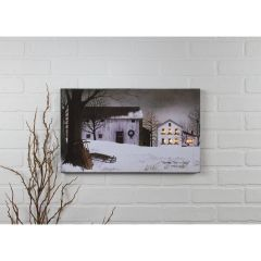 LED Christmastime Canvas