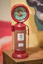 Retro Table Gas Pump Clock