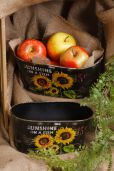Sunflower Oval Planter [L]