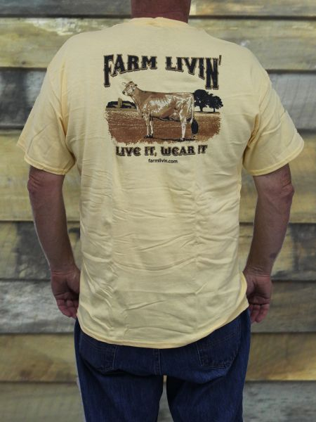 Yellow Haze SS T-Shirt/D Cow