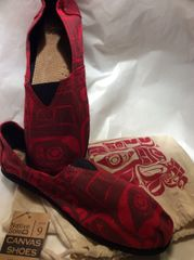 Native Sole - Canvas Shoes, Following our Ancestors