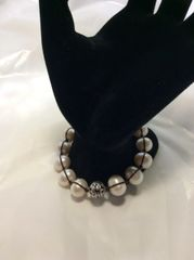 Rugged Pearls Bracelet - B2424