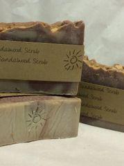 Handmade Soap - Sandalwood Scrub