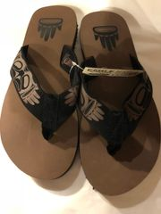 Native Sole Flip Flops - Eagle