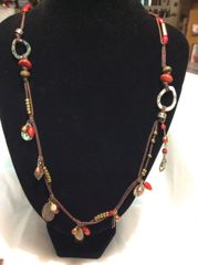 Silpada Necklace - Coral Mixed Stone #N2116