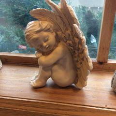 Resting Angel - Sitting