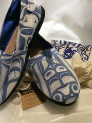 Native Sole - Canvas Shoes, Frog Dancer