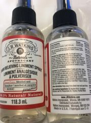 Pain Relieving Liniment Spray